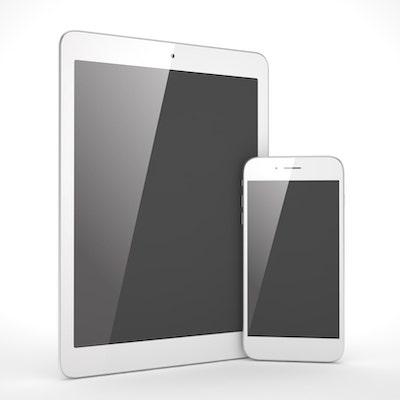 Abbildung Smartphone und Tablet