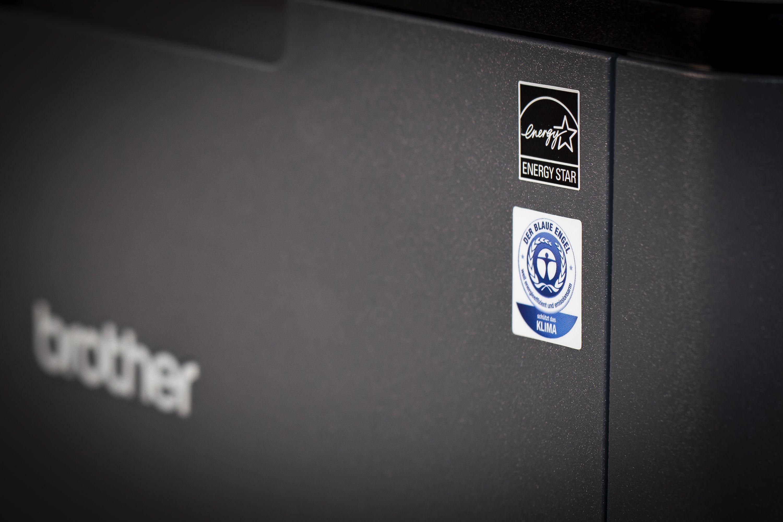 Drucker mit Umweltsiegel Blauer Engel