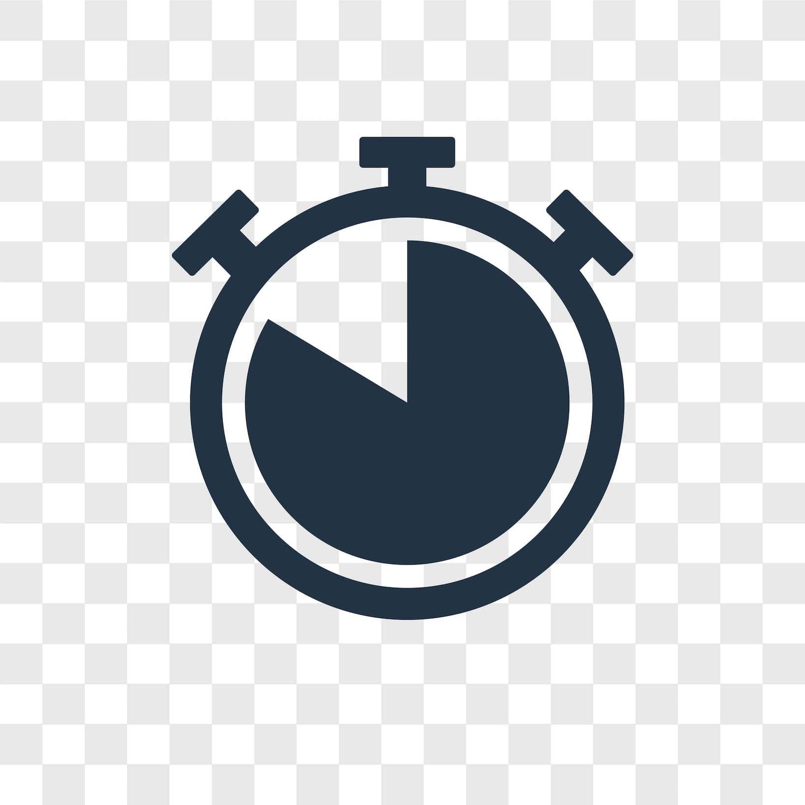 Uhr auf der die Zeit fast abgelaufen ist