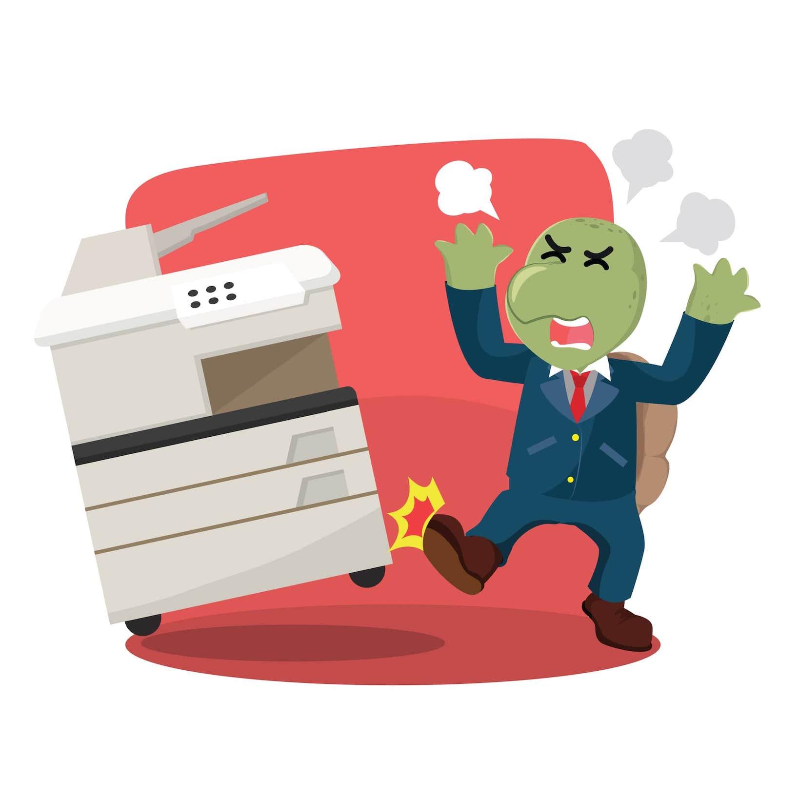 Drucker macht Ärger