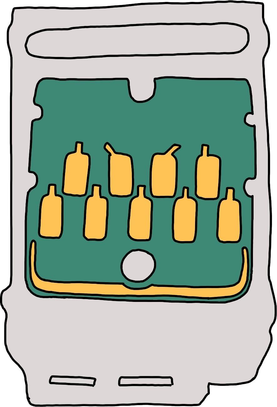 Patronen-Chip-Kartusche-Drucker
