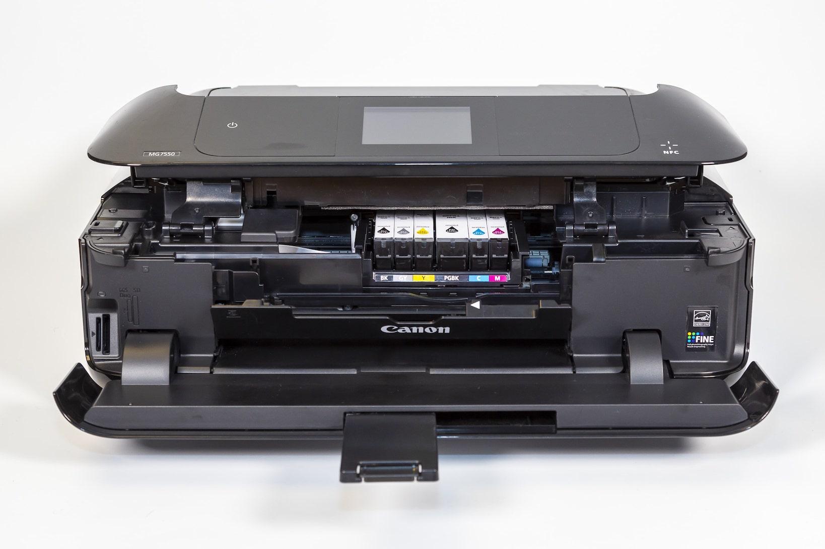 Foto von Tintenstrahldrucker