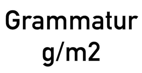 Papierstärke Grammatik Gramm pro qm