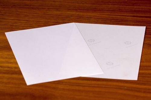 verschiedenes Druckerpapier