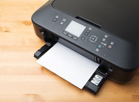 Drucker betriebsbereit